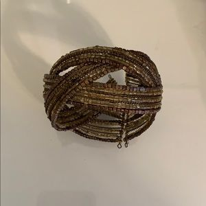 Francesca's Collections Bronze Cuff Bracelet